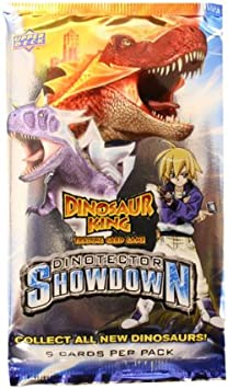Dinosaur King Trading Card Game Series 5 Dinotector Showdown Booster Pack by Upper Deck: Amazon.es: Juguetes y juegos