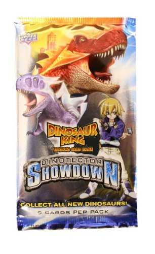 Upper Deck Dinosaur King Trading Card Game Series