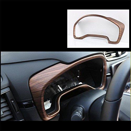 Crv Wood - Flash2ning For Honda CRV CR-V 2017-2018 Peach Wood Grain Dashboard decorative frame Trim