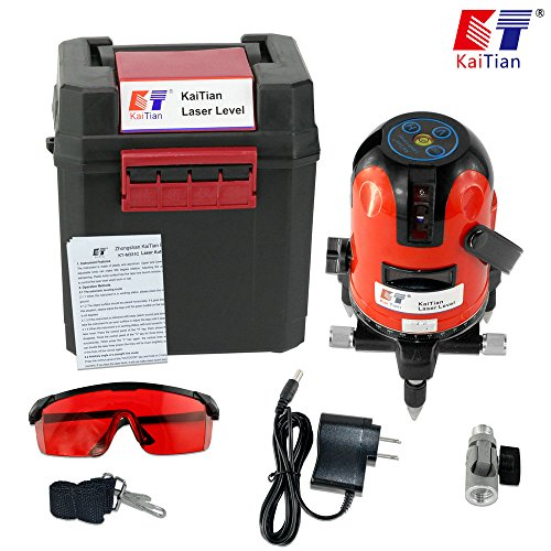 kaitian-ktm331-red-beam-and-point-rotary-lasers-cross-line-laser-level-with-angle-adjustment-bracket