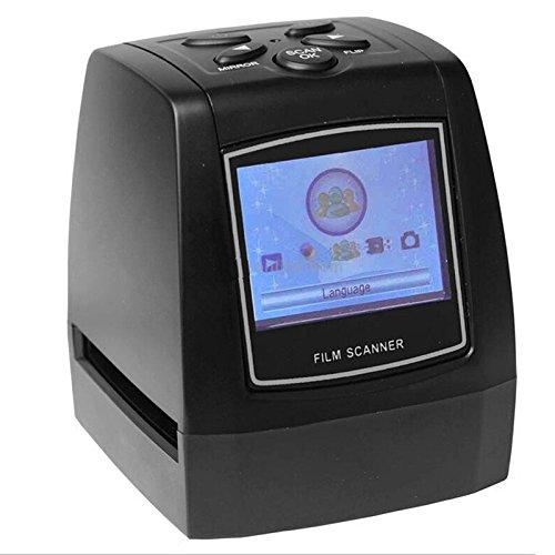 - Del-Digital 35mm Negative Slide Film Scanner Photo Digitalizer Analog to Digital JPEG Picture File Converter Films Photo Scanner Copier 2.4'' LCD, US Power Plug