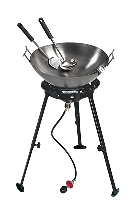 Amazon Com Eastman Outdoors 37212 Outdoor Gourmet 22 Inch Carbon