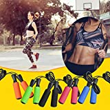 Jump Rope with Adjustable Cables for Women Men