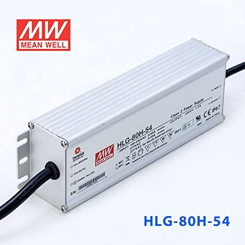 Meanwell HLG-80H-54 Power Supply 80W 54V 1.5A IP67