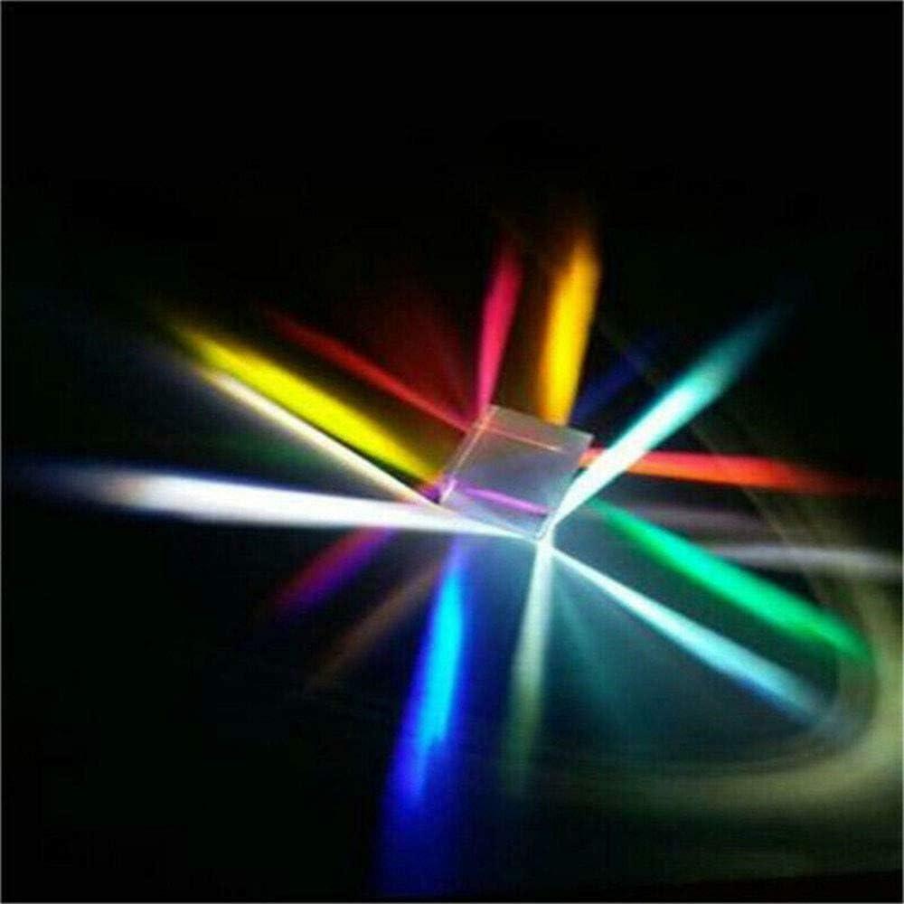 Lernspielzeug Optisches GlasMehrfarbiger W/ürfel Vientiane W/ürfel Prisma Geeignet f/ür Kinder Geschenk RGB-Kombinator TriLance Schiffe aus Deutschland