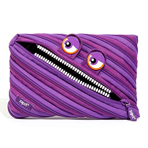ZIPIT Wildlings Big Pencil Case/Cosmetic Makeup Bag
