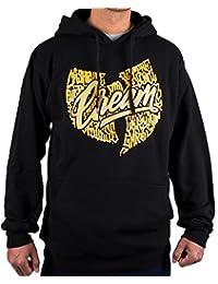 Wu-Wear WU Symbol Cream Black Wu-Tang Clan Wu Tang Hoody Hoodie Sweater