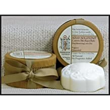 Habersham Naturals Solid Solutions Unscented no Fragrance Added Lotion Disc