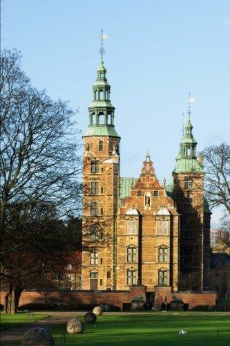 Rosenborg Castle in Copenhagen Denmark: 150 Page Lined Notebook/Diary
