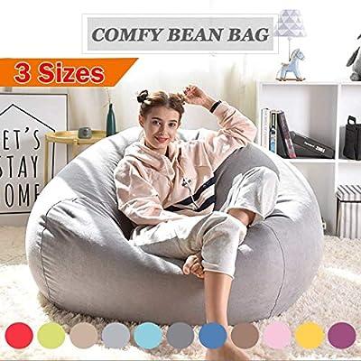 Awesome Amazon Com Big Big Shot 1Pcs Large Bean Bag Sofa Cover Beatyapartments Chair Design Images Beatyapartmentscom