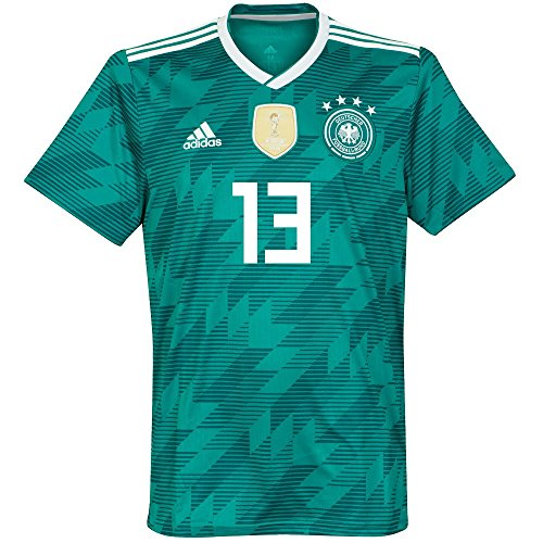 パンツ舗装扱うPlayer Print – AdidasパフォーマンスGermany Away Müller 13 Jersey 2018 / 2019