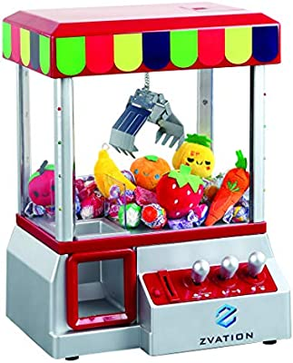 Home Electronic Claw Toy Grabber Classic Arcade Carnival Game w// Lights /& Sound