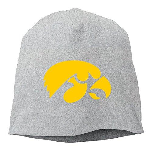Caryonom Adult University Of Iowa Beanies Skull Ski Cap Hat Ash (Skully And Green Demon)