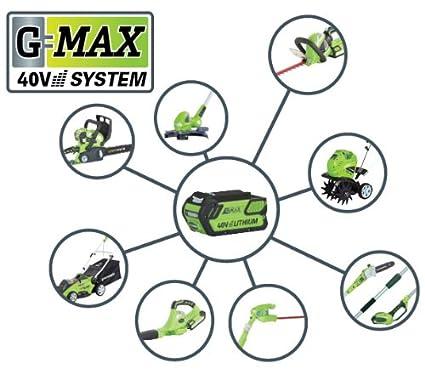 Greenworks GWT40VS2-TILLER-TO Cultivador y arados de jardinería ...