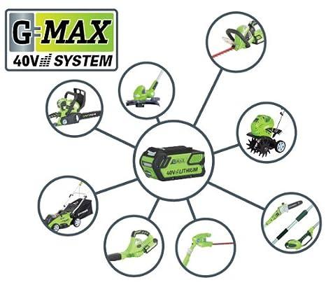 Greenworks GWT40VS2-TILLER-TO Cultivador y arados de ...