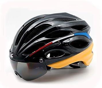XYL LED Bicicleta Casco CE con Advertencia de Luces traseras ...