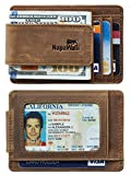Best Wallets - NapaWalli Genuine Leather Magnetic Front Pocket Money Clip Review