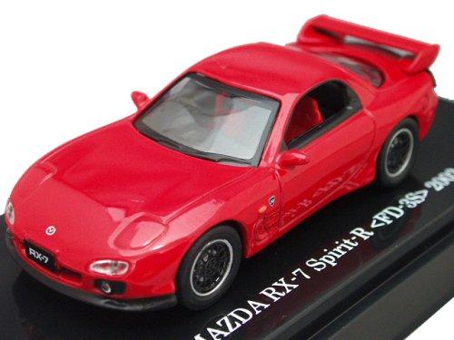 1/64 MAZDA RX-7 Spirit-R <FD-3S> 2002 (レッド) 「Beads Collection 京商ダイキャストカーシリーズ」 06117R