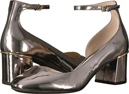 Cole Haan Women's Warner Grand Pump 55MM, Pewter Metallic 6.5 B US - Cole Haan Pumps Heel High