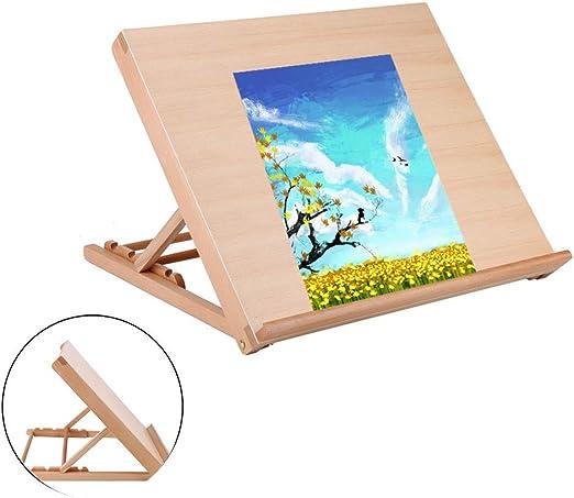 Tabla de dibujo de madera, ajustable A2, tabla de dibujo, mesa de ...