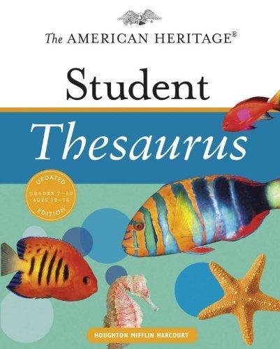 American Heritage Essential Student Thesaurus Hardcover Book
