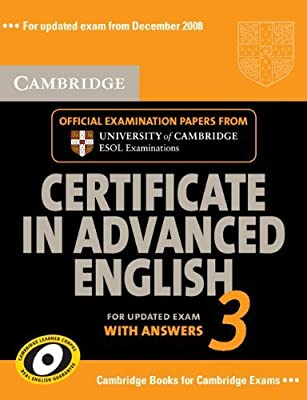 Cambridge Certificate in Advanced English 3 for Updated Exam Self ...