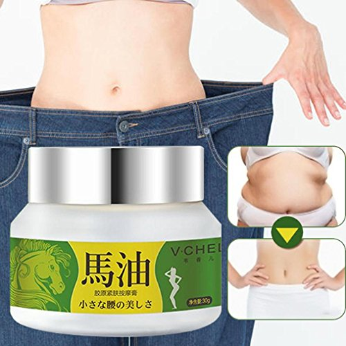 Fat Burning,Lotus.flower 30g Slimming Body Contouring Curve Tempting Whitening Slimming Cream Fast Lose Weight Burn Fat (30g) ()