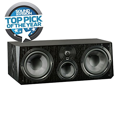 SVS Ultra Center Channel Loudspeaker (Black Oak) by SVS