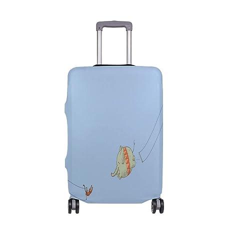 THUNANA - Funda elástica para Equipaje de Viaje, protección contra el Polvo, para Maleta