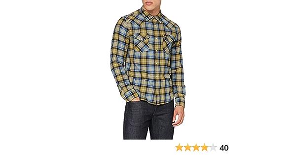 Lee Western Shirt Camisa para Hombre: Amazon.es: Ropa