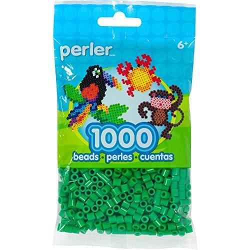 (Perler Beads Fuse Beads for Crafts, 1000pcs, Shamrock)