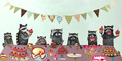 GreenBox Art + Culture Cupcake Party Canvas Wall Art by Eli Halpin, 48 x 24