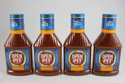 Open Pit Original BBQ Sauce, 18-Ounce (Pack of 4) (Best Barbecue Sauce Brand)
