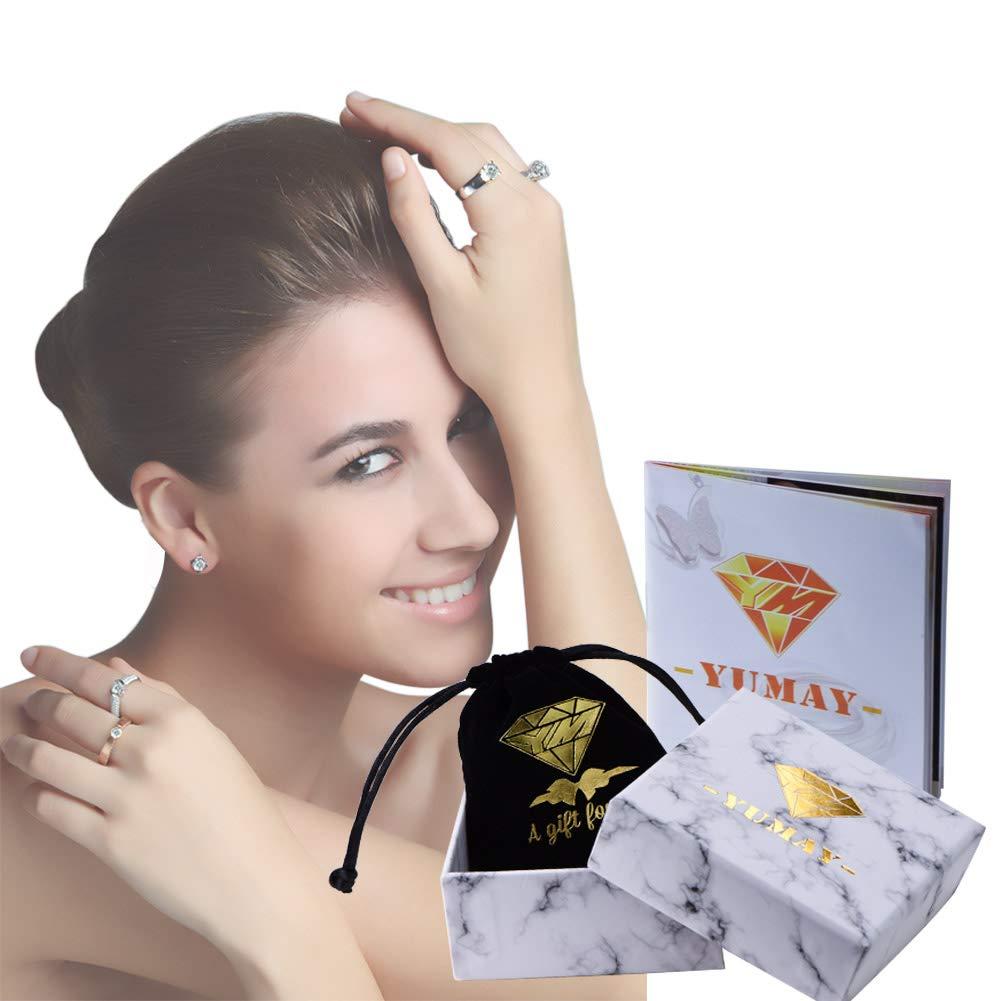 Yumay Boucles doreilles cr/éoles torsad/ées en or jaune 9 carats pour femme et fille 20 mm