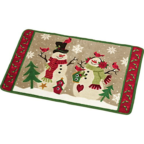 Country Snow - Collections Etc Country Snow Couple Bath Rug