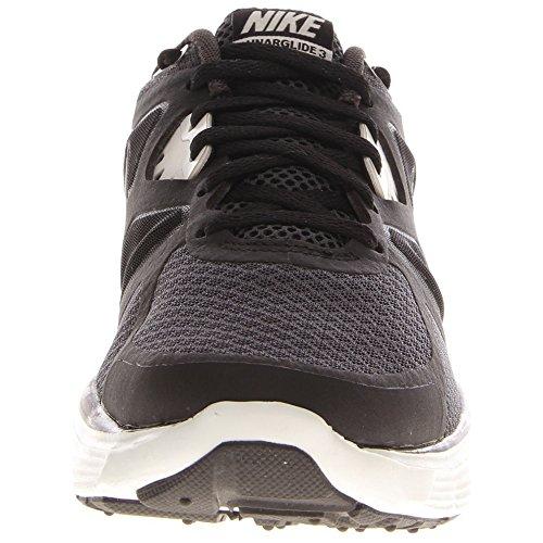 Nike Modern Embossed Tempo Short - Pantalón corto para mujer Anthracite/Summit White-Black-Volt