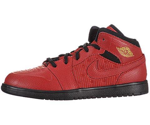 Air Jordan 1 Retro 97 TXT (Preschool) - Gym Red / Black-Gym Red, 12 M US