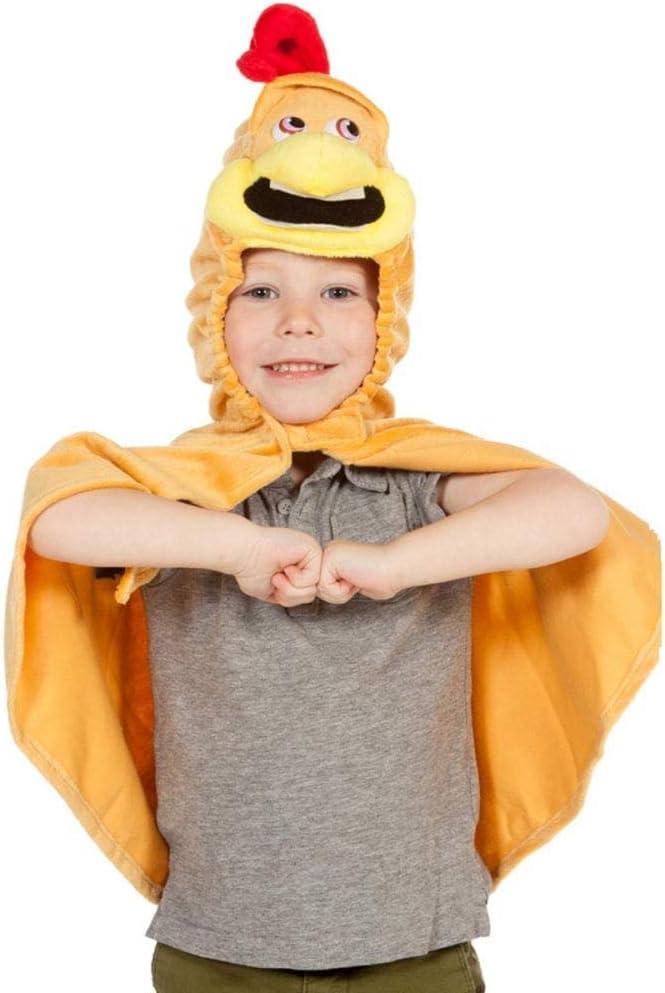 Kids - Disfraz de pollito para niño, talla 3-4 años (9974): Amazon ...