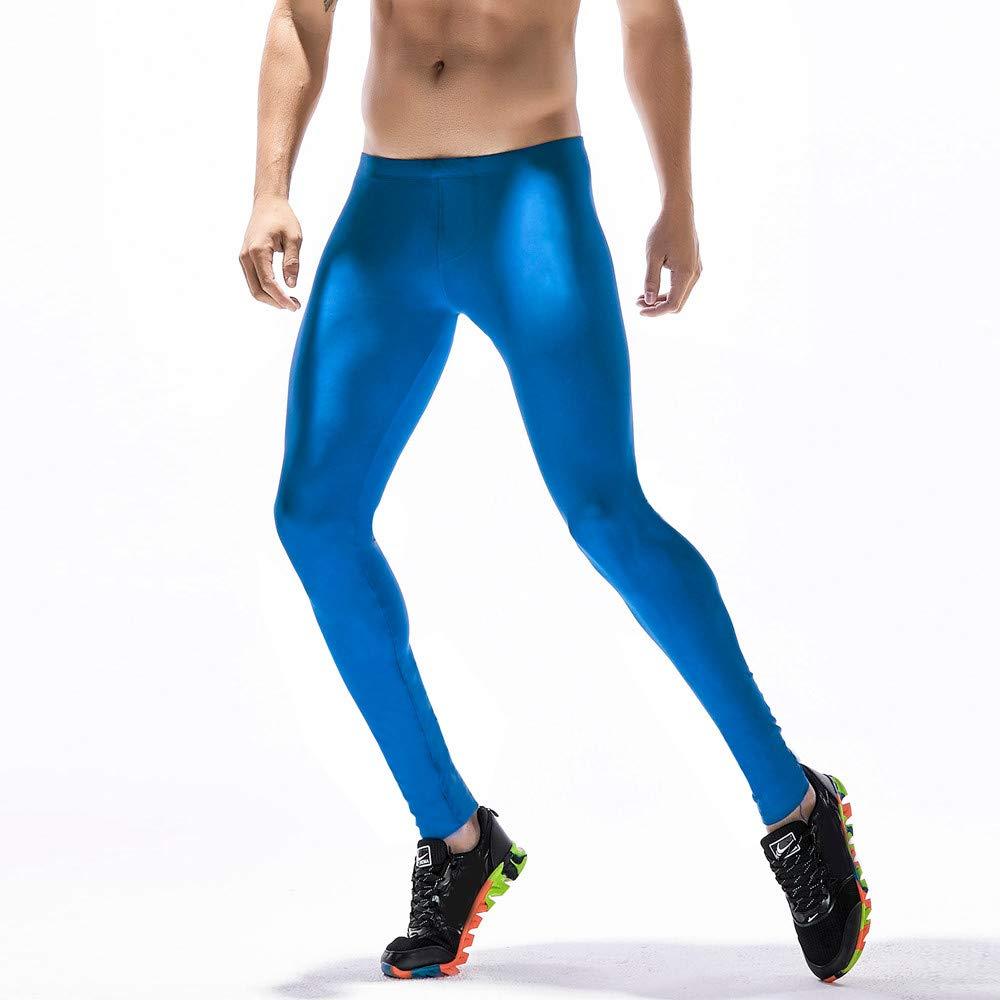 Zoilmxmen Mens Base Layer Training Pants Men Running Tights Sports Leggings Base Layer Training Pants