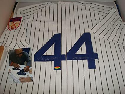 pretty nice b364c ab99e Reggie Jackson Signed New York Yankees Jersey, Mr. October ...
