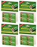 Coghlan's CFWTFPJR 940BP Waterproof Matches, 5 Pack of 20 Boxes