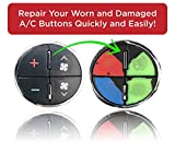 AC Dash Button Repair Kit (Pack of 2) Best for