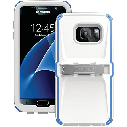 TENKNSSGSS7BL - TRIDENT KN-SSGSS7-BLWG0 Samsung(R) Galaxy S(R) 7 Kraken(R) A.M.S. Series Case (Blue White - Kraken R