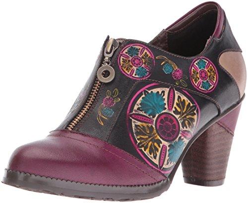L'Artiste by Spring Step Womens Raina Dress Pump, Purple/Multi, 36 EU/5.5-6 M US