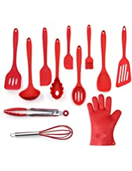 Utensils Set, 12 Piece Complete Silicone Baking U0026 Cooking Kitchen Tools Set  , Cookware