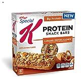Protein Snack Bars Kellogg's Special K Caramel,Pretzel & Cashew (4boxes) For Sale