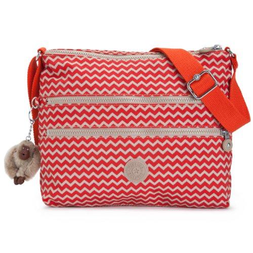 Red Printed Medium Body Kipling Bag Crossbody Alvar Cross Px1WRn04