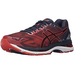 ASICS Men's Gel-Nimbus 19 Running Shoe, Peacoat/Red Clay/Peacoat, 11 Medium US