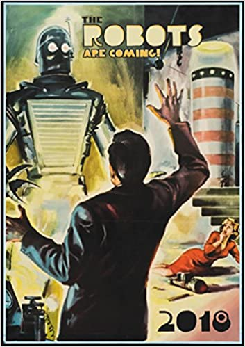 Wall Calendar 2018 12 Pages 8x11 Sci Fi Robots Space Vintage Trash Movie Posters Reprint Pixiluv 9487621804537 Amazon Books