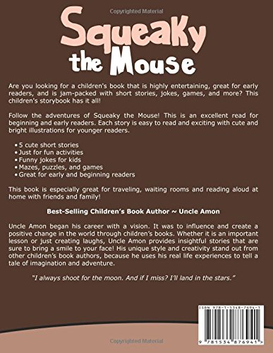 Squeaky the Mouse: Short Stories, Games, and Jokes! (Fun